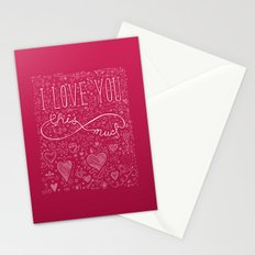 Infinity Valentine Stationery Cards