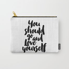 Love yourself,Purpose album,Justin,Bieber,Song Lyrics,Gift for her,Gift for Valentines,Gift for girl Carry-All Pouch