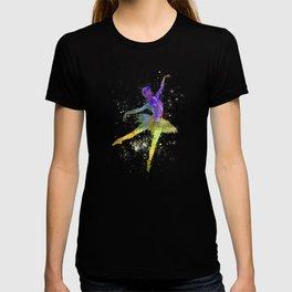 woman ballerina ballet dancer dancing  T-shirt