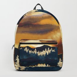 Fall Sunset Backpack