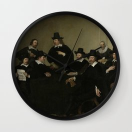 Jacob Adriaensz Backer - Regenten Regents of the Nieuwe Zijds Institute for the Outdoor Relief of th Wall Clock