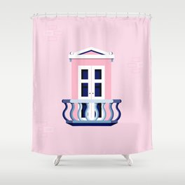 Window of Andalucia | 5 Shower Curtain