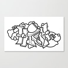 graffiti - HIGH Canvas Print