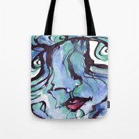 chill Tote Bags featuring Chill by 5wingerone