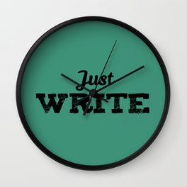 Just Write Wall Clock
