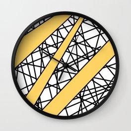 Lazer Dance Y Wall Clock