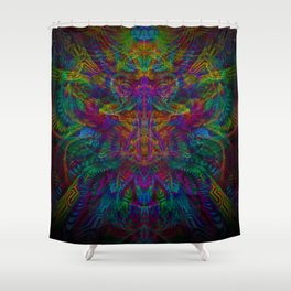 Unified with nature Shower Curtain
