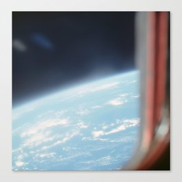 Earth from the sky 2 Canvas Print