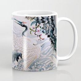 Flowers and Bird Coffee Mug