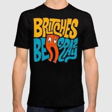 Britches be Crazy Black MEDIUM Mens Fitted Tee