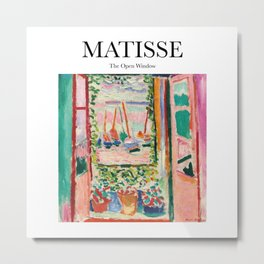 Matisse - The Open Window Metal Print