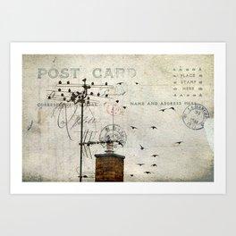 Distant Memories Art Print