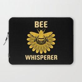 Bee Whisperer   Bees Honey Beekeeper Hive Laptop Sleeve