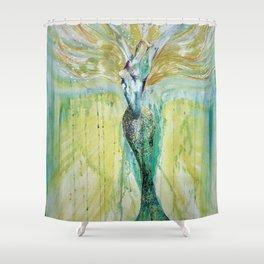 Mermaid Awakening Shower Curtain