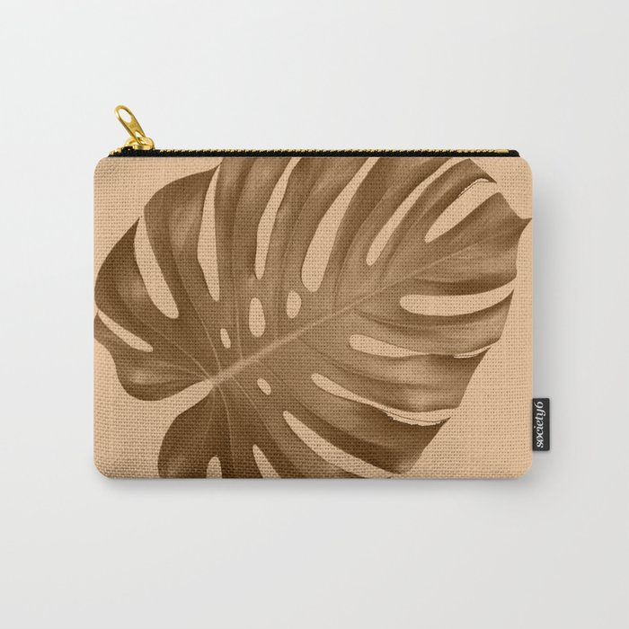 Silent leaf Carry-All Pouch