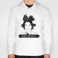 cassandra jean Hoodies featuring jean michel by b & c
