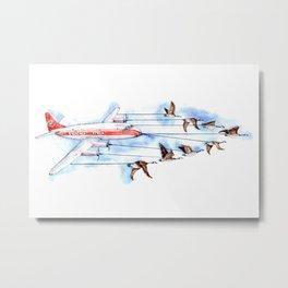 Air Canada Goose Metal Print