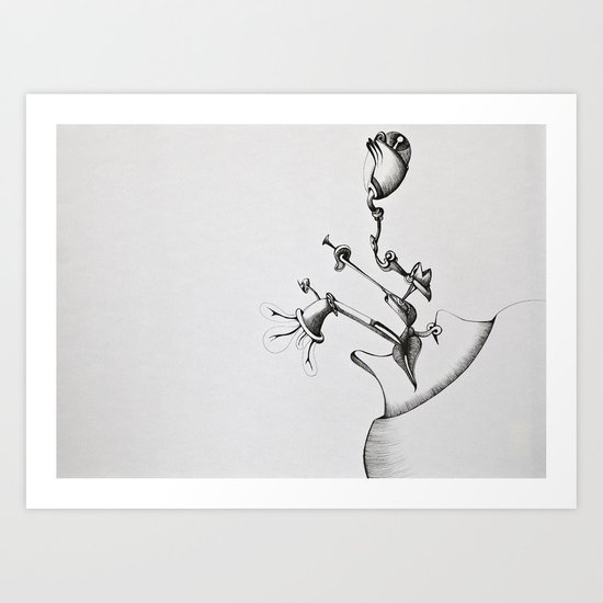 InterAct Art Print