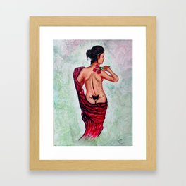 A Rose By Any Other Name Is Still a Women Framed Art Print