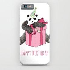 Birthday Panda iPhone 6s Slim Case