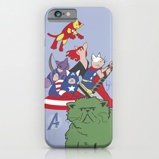 The Catvengers - Earth's Mightiest Kitties iPhone & iPod Case