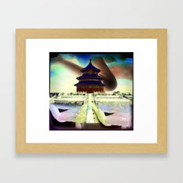 Culture Clash #11 Framed Art Print