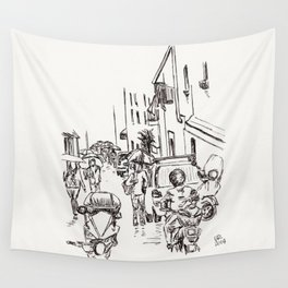Busy Wall Tapestry