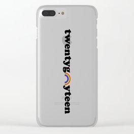 20gayteen Clear iPhone Case