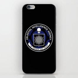 Celestial Intelligence Agency iPhone Skin