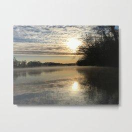 Robious Landing Sunrise Metal Print