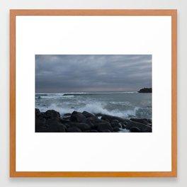 five in the morning (2017) Framed Art Print