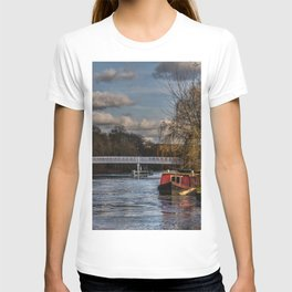 Below The Weir at Pangbourne T-shirt