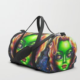 Iconic Alien Women: Marilyn Duffle Bag