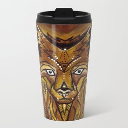 Goyaałé Wolf Metal Travel Mug