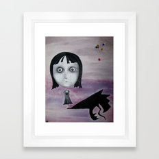 Happy Birthday, Abitha Framed Art Print