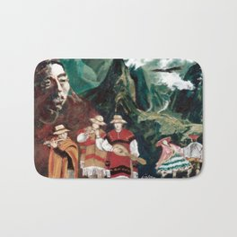 The ANDES             by Kay Lipton Bath Mat