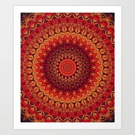 Mandala 261 Art Print