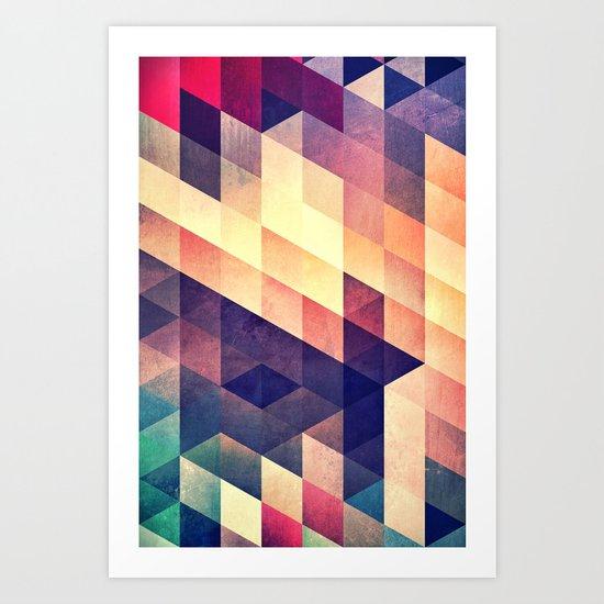 t^ Art Print