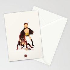 Finn Balor & Demon - NXT Pro Wrestler Illustration Stationery Cards