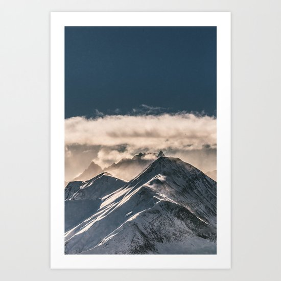 Mountains II #landscape photography Art Print