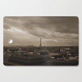 Rooftop view of Paris Cutting Board