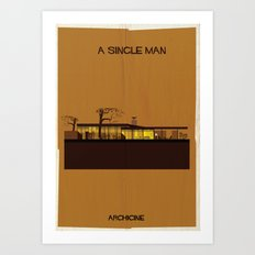 10.	A single man Directed by Tom Ford Art Print