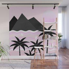 Hello Islands - Pink Skies Wall Mural