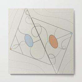Geometric fever Metal Print