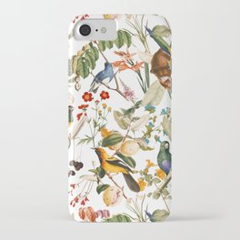 Floral and Birds XXXII iPhone Case