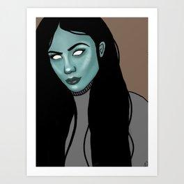 Victoria bloo Art Print