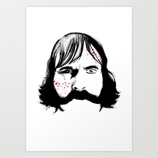 Bill The Butcher Art Print