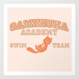 Samezuka - Otter Art Print