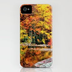 Autumn Reflection Slim Case iPhone (4, 4s)