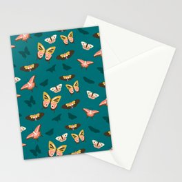 Butterfly Swarm Stationery Cards